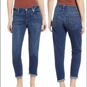 7 for all mankind Boyfriend denim jeans size 31